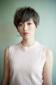 A_外国人・外人風のマッシュショートなら東京のキサイ美容室